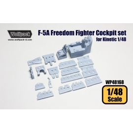F-5A Freedom Fighter Cockpit set (for Kinetic 1/48)