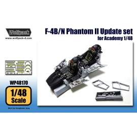 F-4B/N Phantom II Update set (for Academy 1/48)