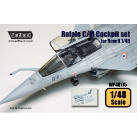 Dassault Rafale C/M Cockpit set (for Revell 1/48)