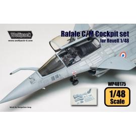 Dassault Rafale C/M Cockpit set (for Revell 1/48)