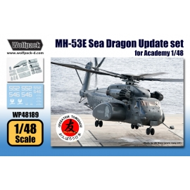 MH-53E Sea Dragon Update set (for Academy/MRC 1/48)