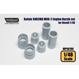 Rafale SNECMA M88-2 Engine Nozzle set (for Revell 1/48)