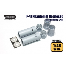 F-4J Phantom II J79 Engine Nozzle set (for Academy 1/48)