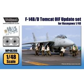 F-14B/D Tomcat OIF Update set (for Hasegawa 1/48)