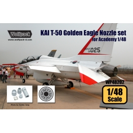 KAI T-50 Golden Eagle F404 Engine Nozzle set (for Academy 1/48)
