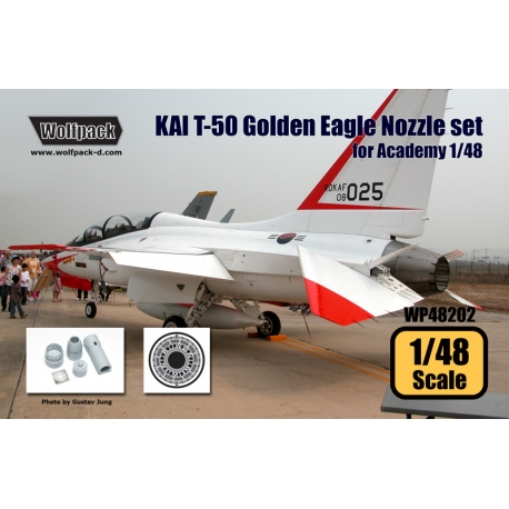 KAI T-50 Golden Eagle F404 Engine Nozzle set (for Academy 1/48)