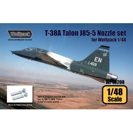 T-38A Talon J85-5 Engine Nozzle set (for Wolfpack 1/48)