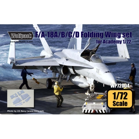 F/A-18A/B/C/D Folding Wing set (for Academy 1/72)