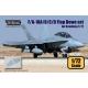 F/A-18A/B/C/D Flap down set (for Academy 1/72)