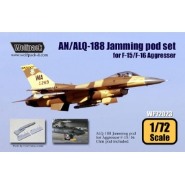 AN/ALQ-188 Jamming pod set for F-15/16