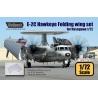 E-2C Hawkeye Folding wing set (for Hasegawa 1/72)