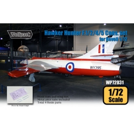 Hawker Hunter F.1/2/4/5 Conversion set (for Revell 1/72)