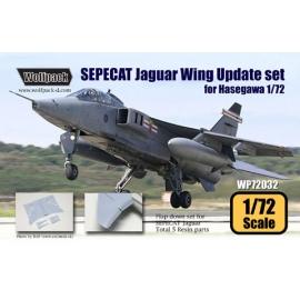 SEPECAT Jaguar Wing Update set (for Hasegawa 1/72)