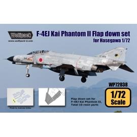 F-4EJ Kai JASDF Phantom II Flap down set (for Hasegawa 1/72)