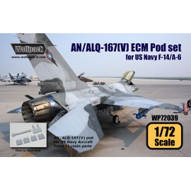 AN/ALQ-167(V) ECM Pod set for US Navy