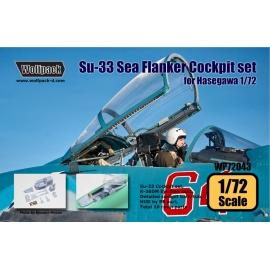 Su-33 Sea Flanker Cockpit set (for Hasegawa 1/72)
