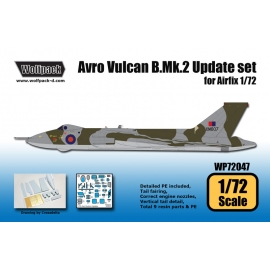 Avro Vulcan B.Mk.2 Update set (for Airfix 1/72)
