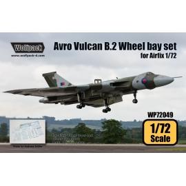 Avro Vulcan B.Mk.2 Wheel bay set (for Airfix 1/72)