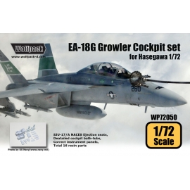 EA-18G Growler Cockpit set (for Hasegawa 1/72)