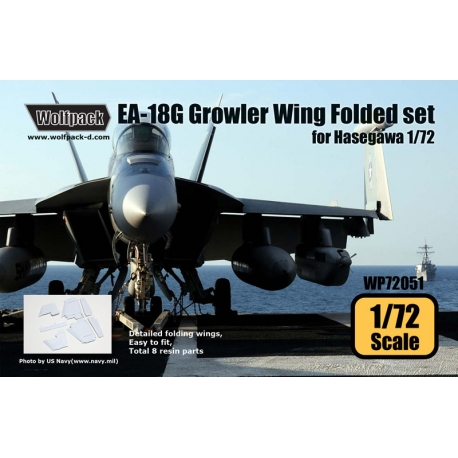 EA-18G Growler Wing Folded set (for Hasegawa 1/72)