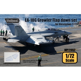 EA-18G Growler Flap down set (for Hasegawa 1/72)
