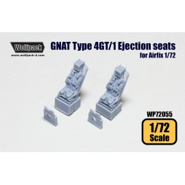 Folland GNAT 4GT/1 Ejection seats (for Airfix 1/72)