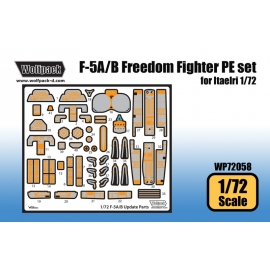 F-5A/B Freedom Fighter Update PE set (for Italeri 1/72)