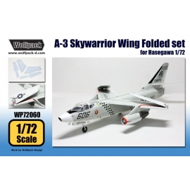 A-3 Skywarrior Wing Folded set (for Hasegawa 1/72)
