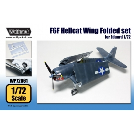 F6F Hellcat Wing Folded set (for Eduard 1/72)