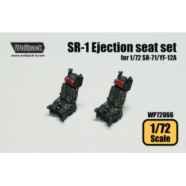 SR-1 Ejection seat set (for 1/72 SR-71/YF-12A)