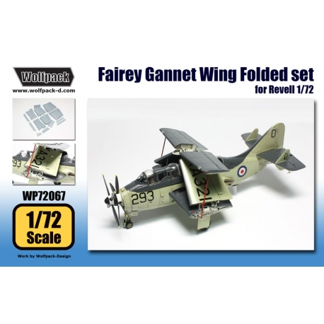 Fairey Gannet Wing Folded set (for Revell 1/72)