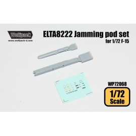 ELTA8222 Jamming pod set (for 1/72 F-15)