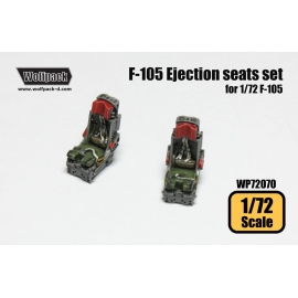 F-105 Thunderchief Ejection seat set (for 1/72 F-105)