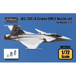 JAS-39C/D Gripen RM12 Engine Nozzle set (for Revell 1/72)