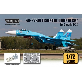Su-27SM Flanker Mod.1 Update set (for Zvezda 1/72)