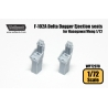 F-102A Delta Dagger Ejection seat set (for Hasegawa/Meng 1/72)