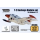 T-2 Buckeye Update set (for Wolfpack 1/72)