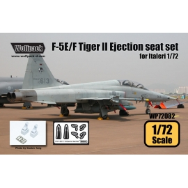 F-5E/F Tiger II Ejection seat set (for Italeri 1/72)