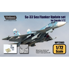 Su-33 Sea Flanker Update set (for Zvezda 1/72)