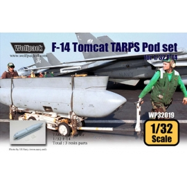 F-14 Tomcat TARPS Pod set for 1/32 F-14