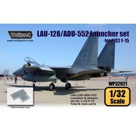 LAU-128/ADU-552 Launcher set for F-15