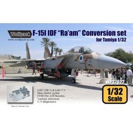 "F-15I IDF ""Ra'am"" Conversion set (for Tamiya 1/32)"