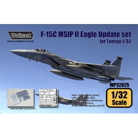 F-15C MSIP II Mod. Eagle Update set (for Tamiya 1/32)