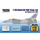 F-16E Block 60 'UAE' Conversion set (for Tamiya 1/32)