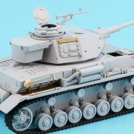 1/35 German Panzer IV Ausf.H Basic Detail-up Set