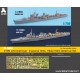 1/700 IJN Destroyer  Inazuma 1944, Hibiki 1945 Detail-up Set
