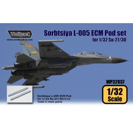 Sorbtsiya L-005 ECM Pod set for Su-27/30/J-11