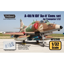 A-4H/N IDF 'Aa-it' Conversion set (for Trumpeter 1/32)