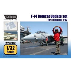 F-14 Bomcat Update set (for Trumpeter 1/32)