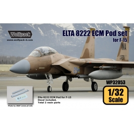 ELTA 8222 ECM Pod set for F-15